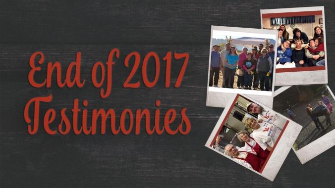 2017 testimonies main photo